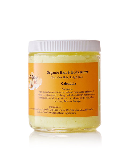 ButtaGrow Calendula Organic Hair & Body Butter