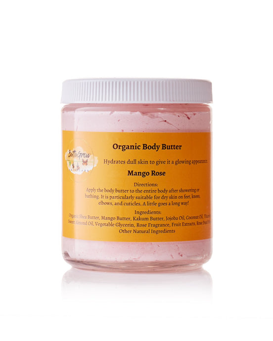 ButtaGrow Mango Rose Body Butter