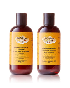 ButtaGrow Rosemary Shampoo and  Conditioner BUNDLE