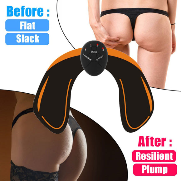 EMS Hip Trainer Muscle Stimulator Trainer Fitness Gym Equipment Exercise Machine Fitness Body Slimming Massager Workout Training