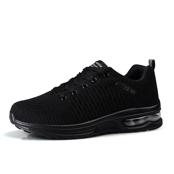 2019 New Breathable Tennis Shoes for Men Lace-up Jogging Sport Shoes Male Stable Fitness Trainers Tenis Masculino Zapatillas