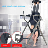 V319 Handstand Machine Inversion Therapy Table Chin-Up Horizontal Bar & Parallel Bars Back Stretcher Machine Fitness Equipment