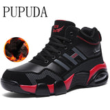 PUPUDA Basketball shoes men sport casual fashion running shoes men Classic outdoor comfortable non-slip shoes Autumn Winter