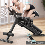 Adjustable 2 In 1 Fitness Tool Abdominal Trainer Home Gym Integrated Fitness Equipments Body Building Lose Weight Foldable