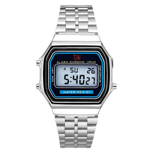 Hot men and women retro luxury electronic watches men's and women's watches