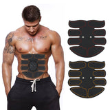 EMS Smart Abdominal Muscle Exercisera Trainer Sticker ABS Massager Stimulator Pad Exercise Fitness Sports Gear Equipment Tools