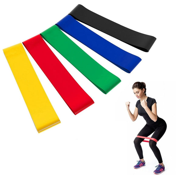 Resistance Bands Elastic Bands for Fitness Loop Yoga Pilates Home GYM Exercise Equipments Workout Training Pull Up Rubber Band