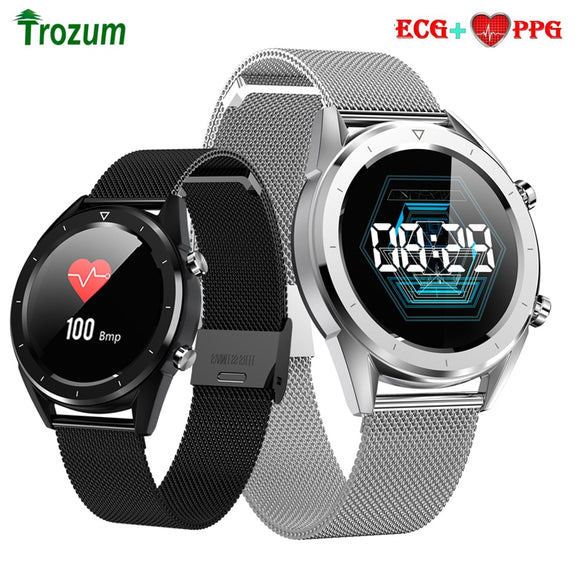 DTNO.1 DT28 Smart Watch ECG Heart Rate Monitor Waterproof Men Payment Fitness Tracker Wristband Smart Bracelet Sport Wristband
