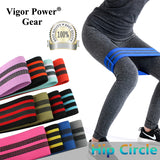Vigor Power Gear Wholesale Booty band  Hip Circle Hip Resistance Band Non-slip Hip elastic bands Legs Exercise Crossfit Training