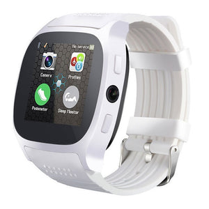 Smart Watch with Camera Touch Screen T8 Bluetooth Smart Watch Support SIM and TF card Camera For Android iPhone