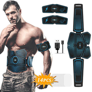 Muscle Stimulator ABS Hip Trainer EMS Abdominal Belt Electrostimulator Muscular Exercise Home Gym Equipment Electrostimulation