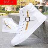 Fashion Men Casual Shoes Men Sneakers High Quality Comfortable Lace Up High Top Mens Shoes Plus Size 39-45 zapatillas hombre