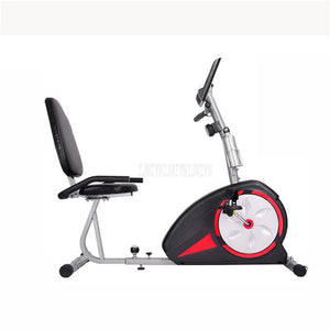 SJ3560 Indoor Fitness Exercise Bike Trainer Home Training Old Man Rehabilitation 8 Gear Resistance Road Bike Bicycle Trainer