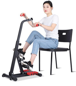 Gear rehabilitation stroke hemiplegic cerebral infarction Onset of exercise bike Home rehabilitation training