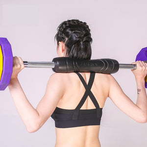 Power Gear Barbell Squat Pad  for Bar Weight Lifting Eva Foam Exercise Sponge Protects Neck and Shoulders