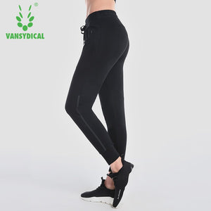 Women pure color Pants Yoga Gear Sports Exercise loose Female Fitness Running Long Jogging Trousers Gym Slim Leggings