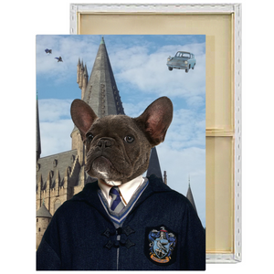 Harry Potter Ravenclaw Custom Pet Portrait Framed Canvas