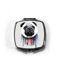 Load image into Gallery viewer, Compact Mirror Customized With Your Pet
