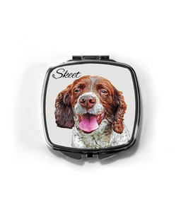 Compact Mirror Customized With Your Pet