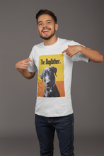 Load image into Gallery viewer, Custom Men's T-Shirt Featuring Your Pet