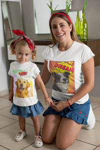Custom Kids Unisex T-Shirt Featuring Your Pet (3-14 years)