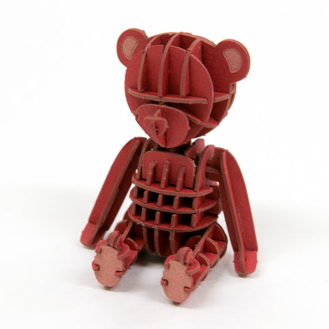 JIGZLE - Teddy Bear (red)