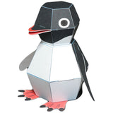 KAMIKARA Penguin POP! Action Paper Craft kit by Haruki Nakamura