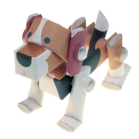 PIPEROID animals - Dog Series: Beagle - paper craft kit from Japan