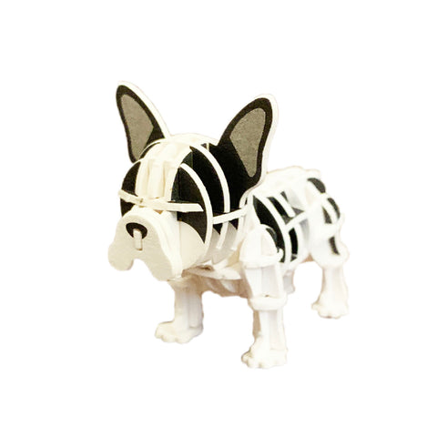 JIGZLE - French Bulldog (black and white)