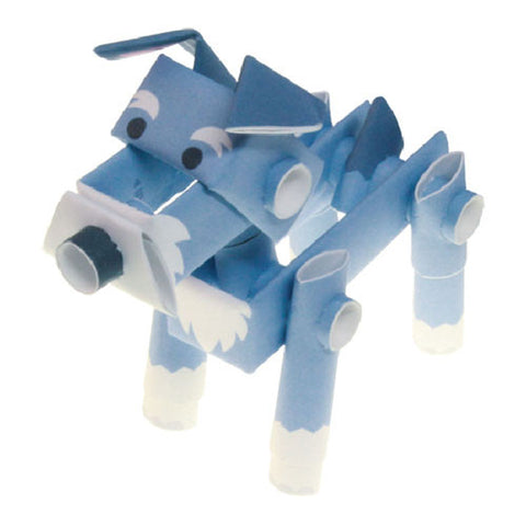 PIPEROID animals - Dog Series: Schnauzer - paper craft kit from Japan