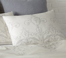Load image into Gallery viewer, Belle Cream Duvet Set