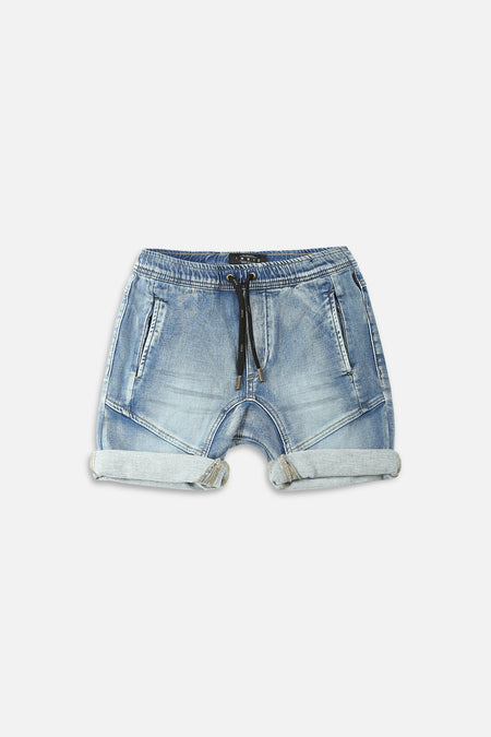 S20 Arched Drifter Short - Light Denim