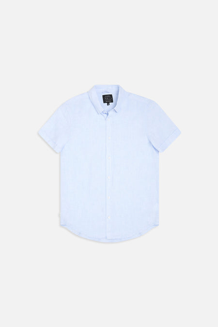 Tennyson Shirt - Sky Blue