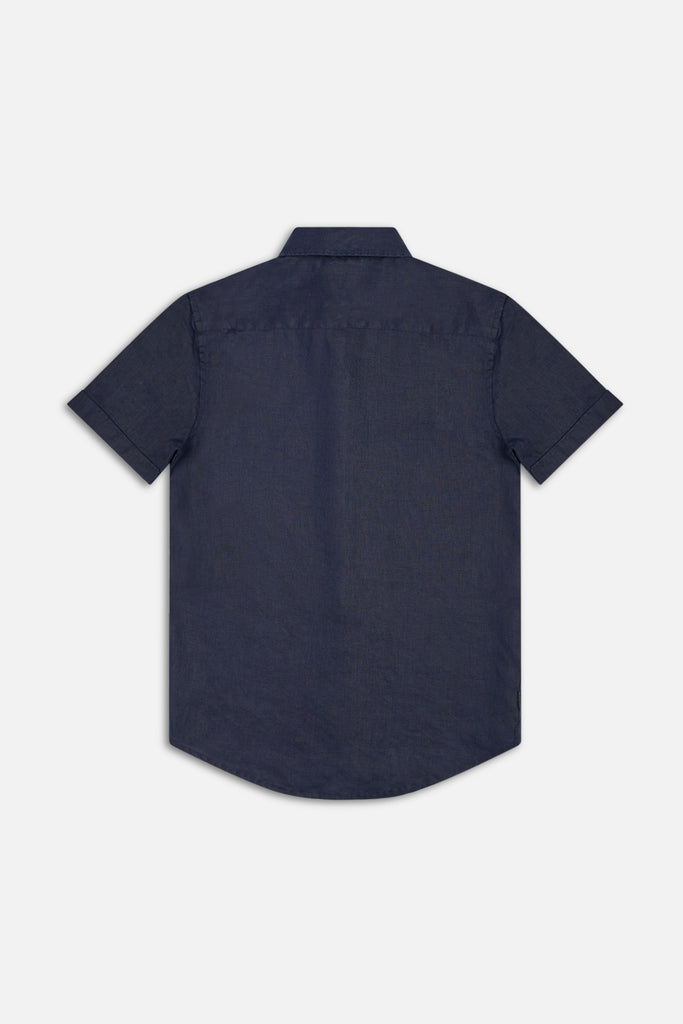 Tennyson Ss Shirt - Navy