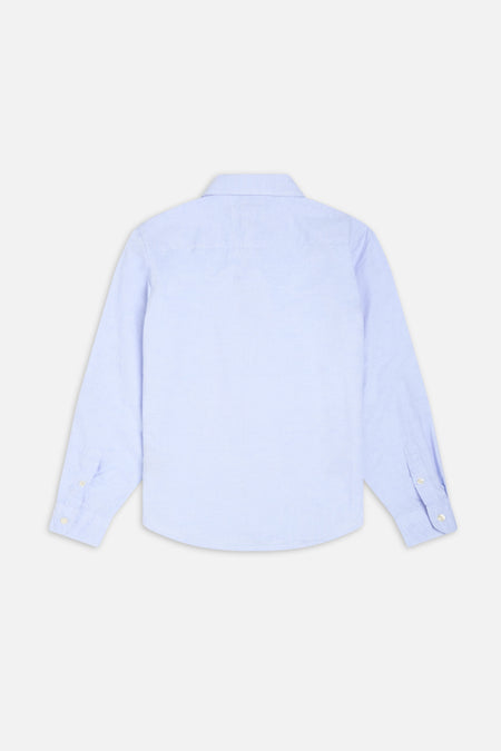 The Rickard Ls Shirt - Light Blue