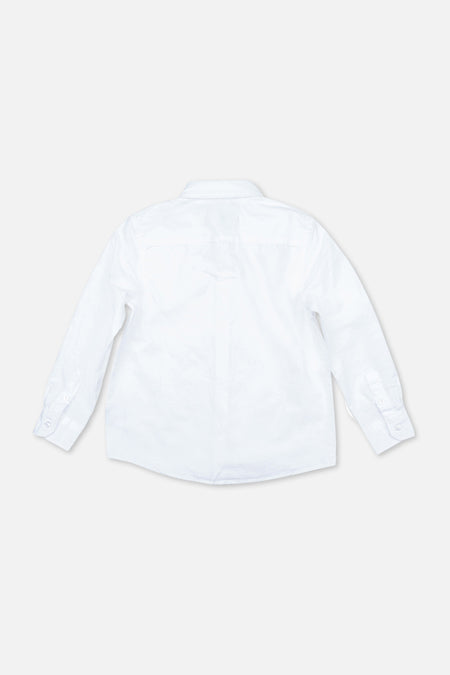 The Rickard Ls Shirt - White