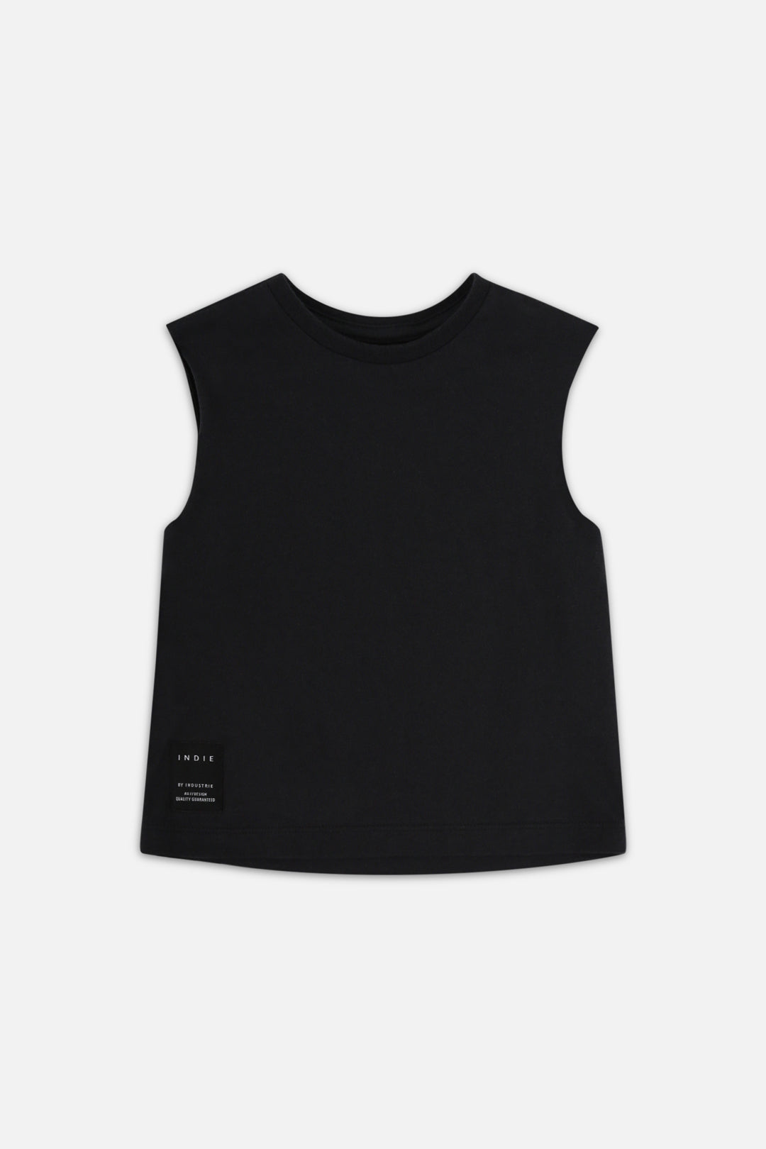 Indie Muscle Tee - Black