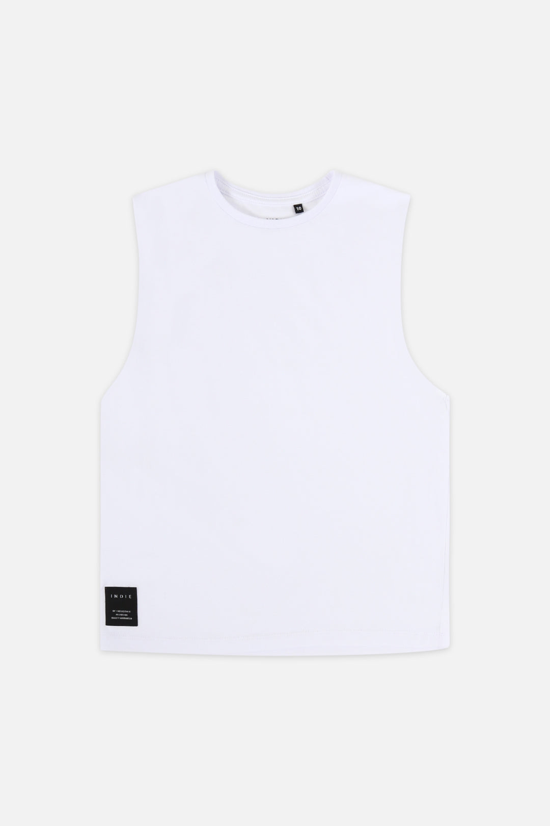Indie Muscle Tee - White