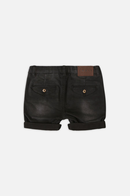 The Drifter Chino Short - Washed Black