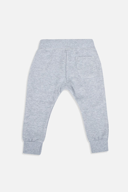 Core Trackie - Light Grey Marle