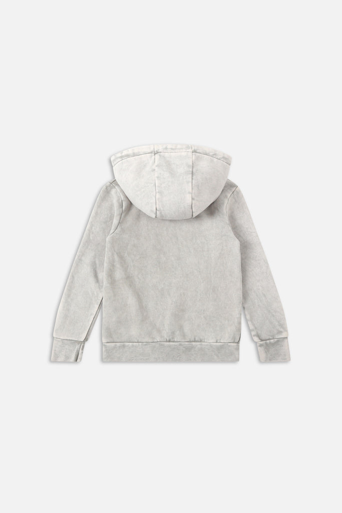 The Indie Archer Hoodie - Ice Grey