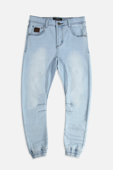 Arched Drifter - Mid Denim