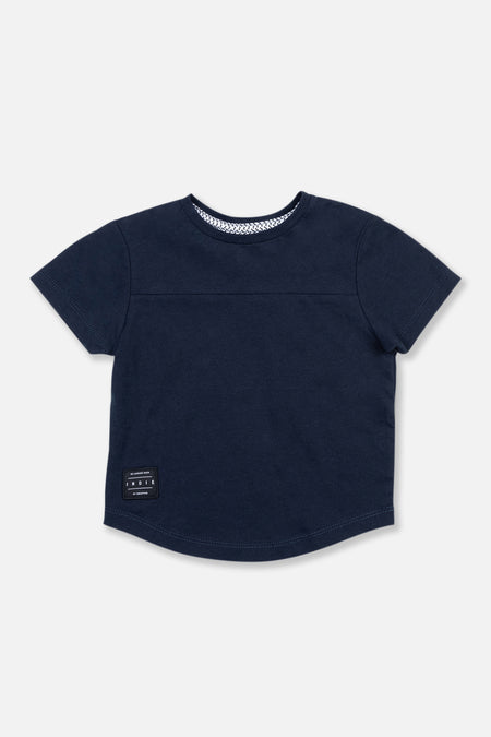 The Nation Tee - Navy