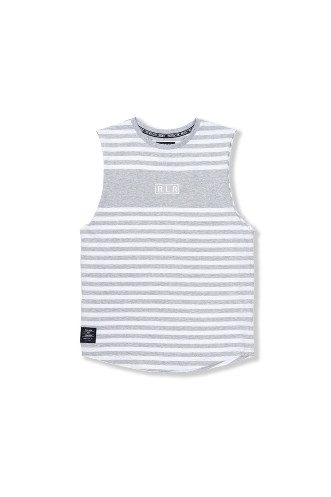 Indie Stripe Muscle - Grey