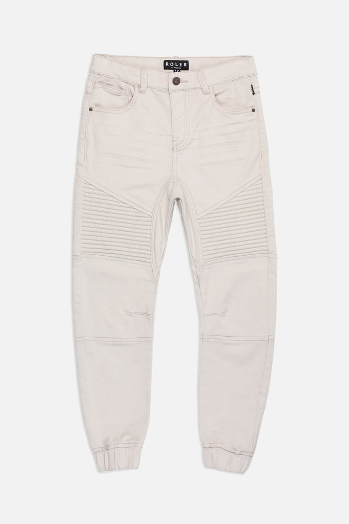 Roler Damage Biker Pant - Light Stone