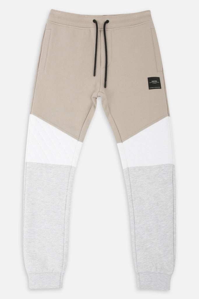 Roler Tri Colour Trackie - Stone