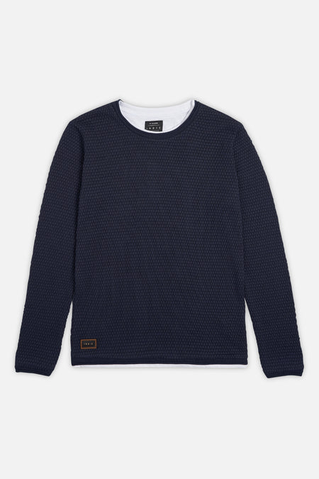 The Tee Knit - Navy