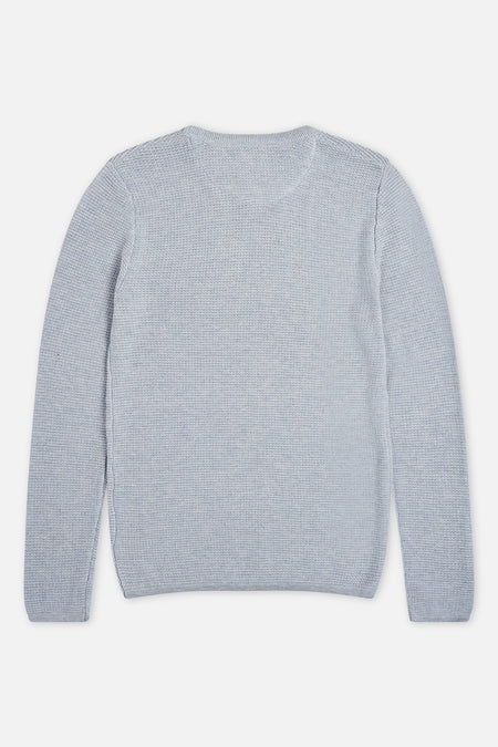 Richland Knit - Light Blue Marle