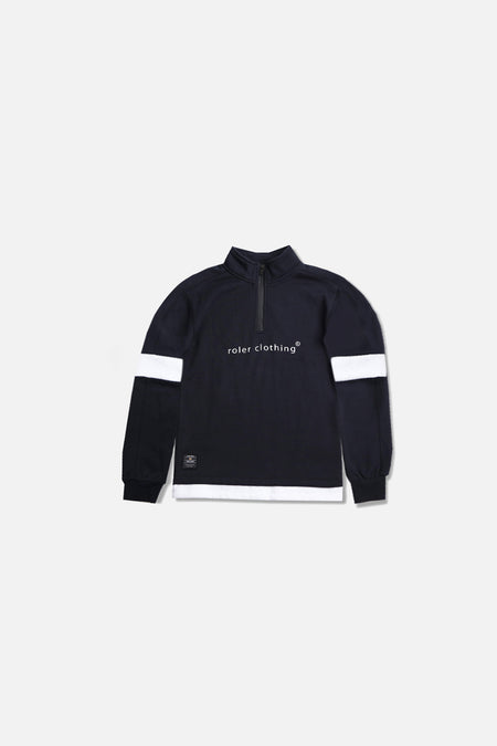 Roler Half Zip Sweat - Navy