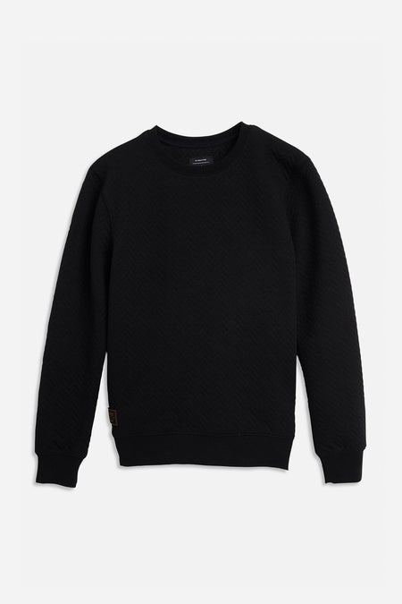 Chevron Sweat - Black